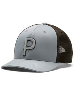 Golf Hat Puma Trucker P Snapback Hat Quarry