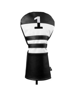 Golf Headcover Callaway Vintage Driver Cover Black White