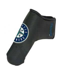 Golf Headcovers Team Effort Mlb Black Blade Putter Cover Seattle Mariners