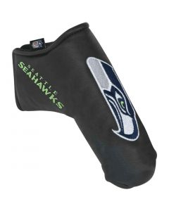 Golf Headcovers Team Effort Nfl Black Blade Putter Cover Seattle Seahawks