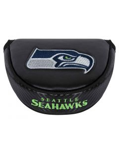 Golf Headcovers Team Effort Nfl Black Mallet Putter Cover Seattle Seahawks