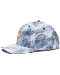Golf Headwear Puma P 110 Palms Hat Dark Denim