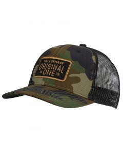 Golf Headwear Taylormade Lifestyle Trucker Hat Camo Black