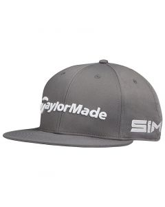 Golf Headwear Taylormade Tour Flatbill Hat Graphite