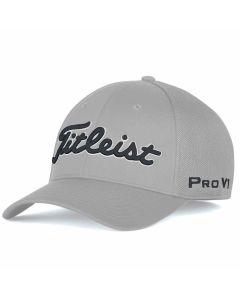 Golf Headwear Titleist Tour Sports Mesh Legacy Hat Grey Black