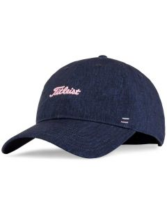 Golf Headwear Titleist Womens Nantucket Heathered Hat Navy