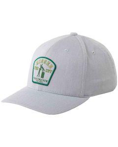 TravisMathew Green Glory Snapback Hat
