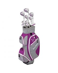 Golf Package Sets Tour Edge Womens Lady Edge Complete Set Violet