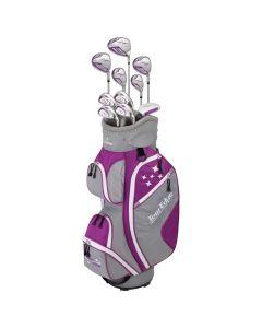 Golf Package Sets Tour Edge Womens Lady Edge Complete Set Violet