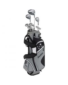 Golf Package Sets Tour Edge Womens Lady Edge Starter Set Black Stand Bag_1