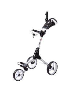Golf Push Cart Tartan Code Cart White White