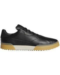 Golf Shoes Adidas Adicross Retro Golf Shoes Black Gold Profile