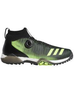 Golf Shoes Adidas Codechaos Boa Golf Shoes Black Signal Green Profile
