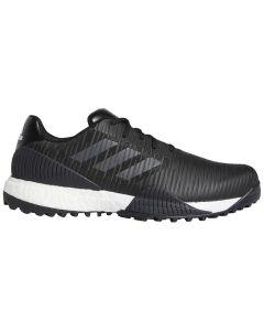 Golf Shoes Adidas Codechaos Sport Golf Shoes Black Grey Blue Profile