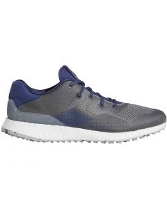 Golf Shoes Adidas Crossknit Dpr Golf Shoes Metal Grey Grey Three Profile