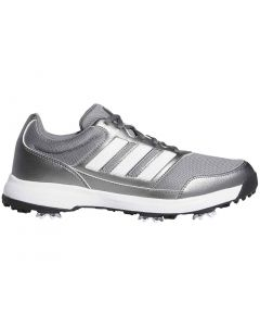 Golf Shoes Adidas Tech Response 2 0 Golf Shoes Iron Metallic White Profile_1