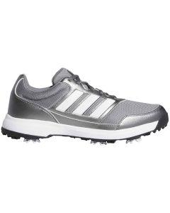 Golf Shoes Adidas Tech Response 2 0 Golf Shoes Iron Metallic White Profile_1