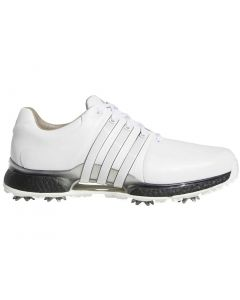 Golf Shoes Adidas Tour360 Xt Golf Shoes White Black Silver Profile