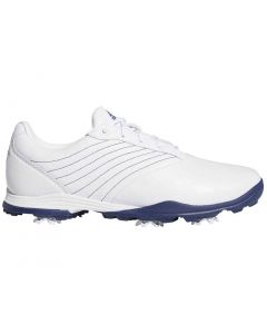 Golf Shoes Adidas Womens Adipure Dc2 Golf Shoes White Blue Profile