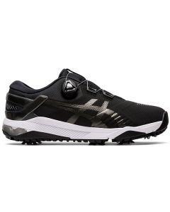 Golf Shoes Asics Gel Course Duo Boa Golf Shoes Black Gunmetal Side
