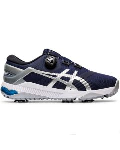 Golf Shoes Asics Gel Course Duo Boa Golf Shoes Peacoat Silver Side