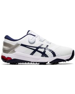 Golf Shoes Asics Gel Course Duo Boa Golf Shoes White Peacoat Side
