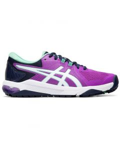 Golf Shoes Asics Womens Gel Course Glide Golf Shoes Orchid White Side
