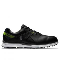 Golf Shoes Footjoy Pro Sl Golf Shoes Black Lime Side