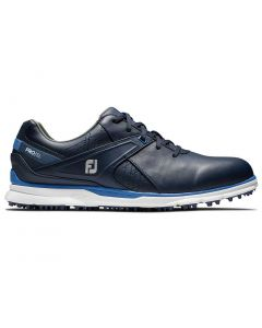 Golf Shoes Footjoy Pro Sl Golf Shoes Navy Light Blue Side