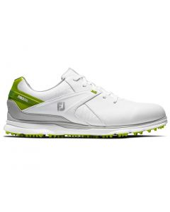 Golf Shoes Footjoy Pro Sl Golf Shoes White Lime Side