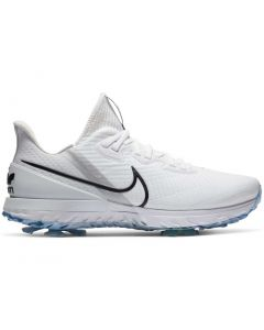 Golf Shoes Nike Air Zoom Infinity Tour Golf Shoes White Black Photon Dust Side Alt