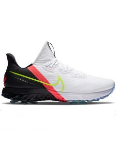 Golf Shoes Nike Air Zoom Infinity Tour Golf Shoes White Volt Pink Profile