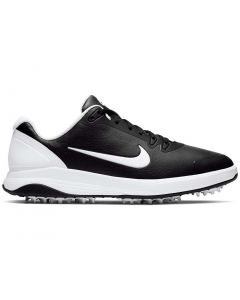 Golf Shoes Nike Infinity G Golf Shoes Black White Side