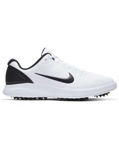 Golf Shoes Nike Infinity G Golf Shoes White Black Side