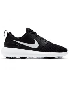 Golf Shoes Nike Juniors Roshe G Golf Shoes Black Metallic Side