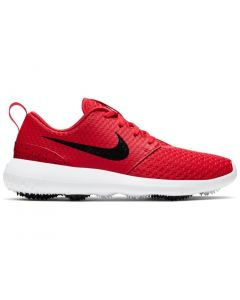 Golf Shoes Nike Juniors Roshe G Golf Shoes University Red Black Side