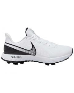 Golf Shoes Nike React Infinity Pro Golf Shoes White Black Side