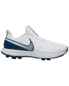 Golf Shoes Nike React Infinity Pro Golf Shoes White Valerian Blue Side