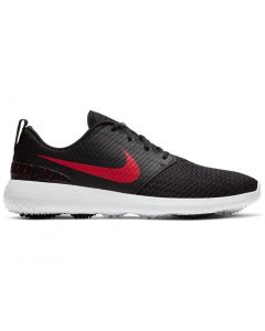 Golf Shoes Nike Roshe G Golf Shoes Black University Red Side