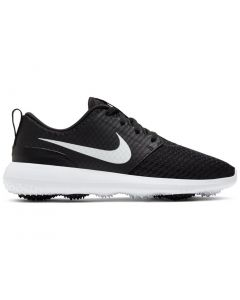 Golf Shoes Nike Women_s Roshe G Golf Shoes Black Metallic White Side