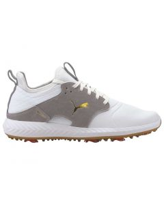 Golf Shoes Puma Ignite Pwradapt Caged Crafted White High Rise Profile