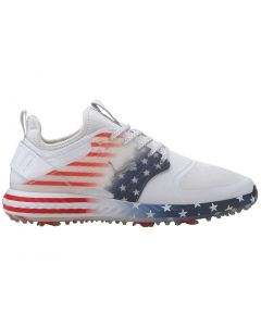 Golf Shoes Puma Ignite Pwradapt Caged Stars And Stripes Profile