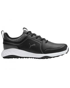 Golf Shoes Puma Juniors Grip Fusion 2 0 Black Quiet Shade Profile