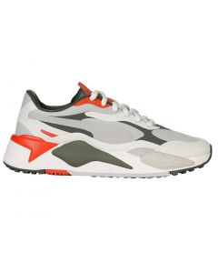 Golf Shoes Puma Womens Rs G Golf Shoes Vaporous Grey Thyme Profile