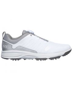 Golf Shoes Skechers Go Golf Torque Twist Golf Shoes White Grey Side