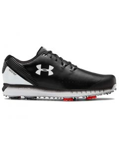Golf Shoes Under Armour Hovr Drive Gore Tex Golf Shoes Black Profile