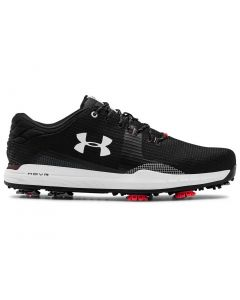 Golf Shoes Under Armour Hovr Matchplay Te Golf Shoes Black Profile
