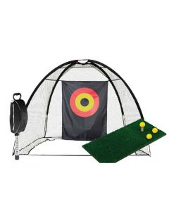 Golf Training Aids Jef World Of Golf Complete Home Practice Range_1
