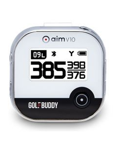 GolfBuddy Aim V10 GPS Rangefinder Black/Chrome