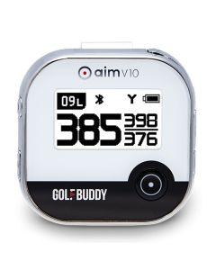 GolfBuddy Aim V10 GPS Rangefinder Black/Chrome